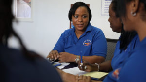 Mia Isaacs are her leadership team are working to sustain The Bahamas' lobster fishery